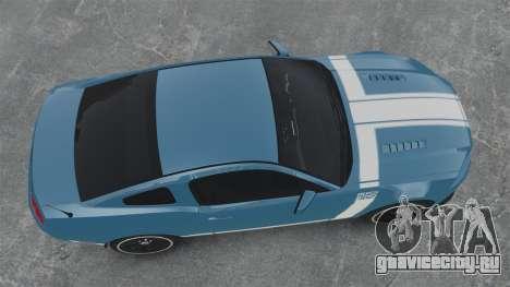Ford Mustang BOSS 2013 для GTA 4 вид справа