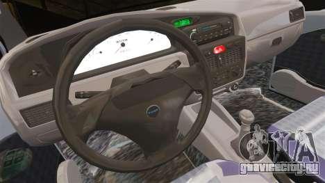 Fiat Palio EDX 1997 для GTA 4 вид изнутри