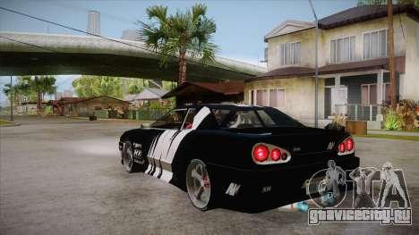Elegy Touge Tune для GTA San Andreas вид сзади слева