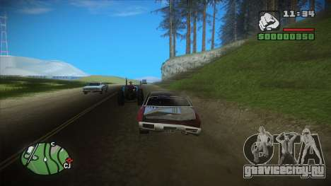 GTA HD mod 2.0 для GTA San Andreas