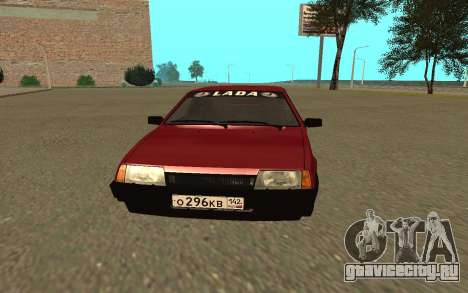 ВАЗ 2109 для GTA San Andreas вид слева