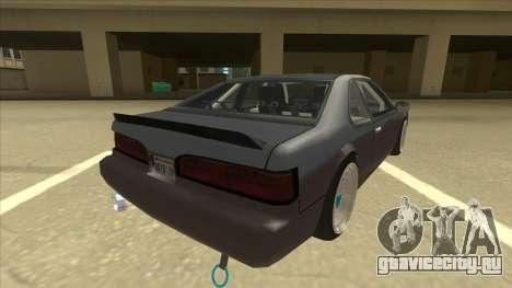 Fortune Drift для GTA San Andreas вид справа