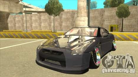 Nissan GT-R R35 Camber Killer для GTA San Andreas