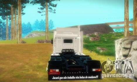 TopLine Scania 113 h 360 для GTA San Andreas вид справа