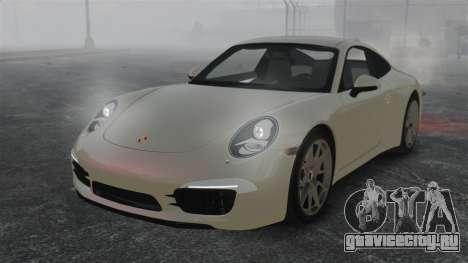 Porsche 911 Carrera S 2012 v2.0 для GTA 4