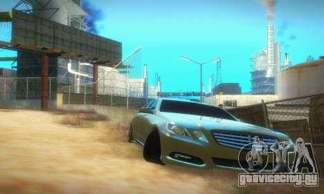 Mercedes-Benz E350 Wagon для GTA San Andreas вид слева