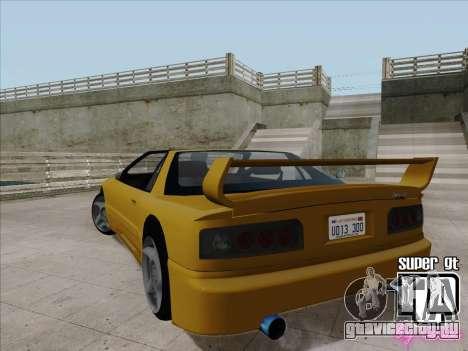 Super GT HD для GTA San Andreas вид справа