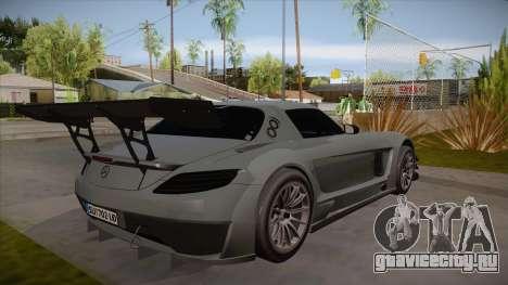 Mercedes-Benz SLS (AMG) GT3 для GTA San Andreas вид сзади