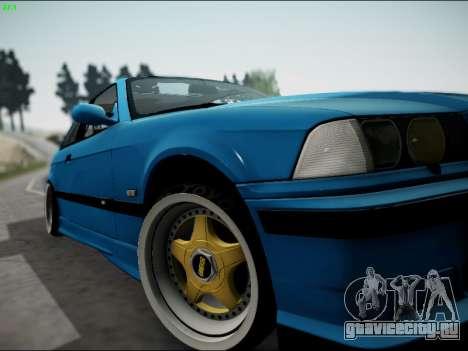 BMW M3 E36 Stance для GTA San Andreas вид сбоку