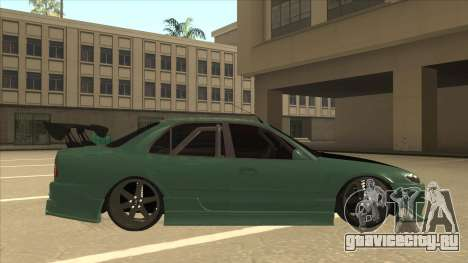 Proton Wira with s15 front end для GTA San Andreas вид сзади слева