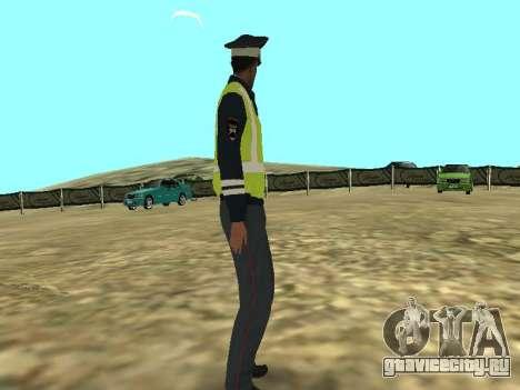 Скин Сотрудника ДПС для GTA San Andreas второй скриншот