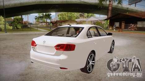VW Jetta GLI 2013 для GTA San Andreas вид справа