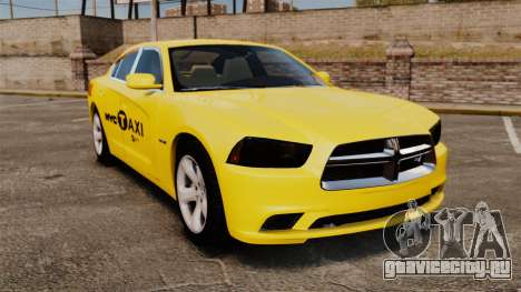 Dodge Charger 2011 Taxi для GTA 4