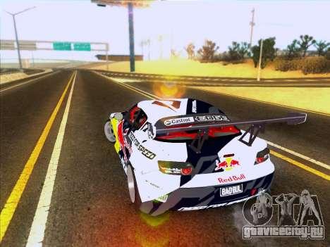 Mazda RX-8 NFS Team Mad Mike для GTA San Andreas вид сзади слева