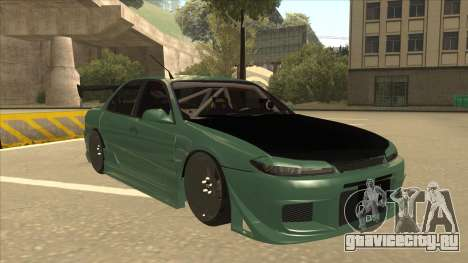 Proton Wira with s15 front end для GTA San Andreas вид слева