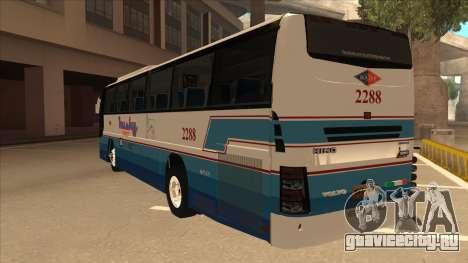 Husky Tours 2288 для GTA San Andreas вид сзади