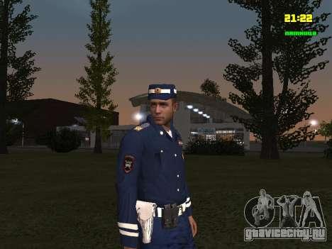 Сержант ДПС для GTA San Andreas второй скриншот