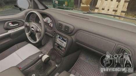 Chevrolet TrailBlazer SS 2008 для GTA 4 вид изнутри