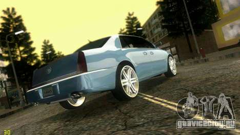 Caddy DTS DUB для GTA Vice City вид слева