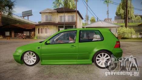 Volkswagen Golf Mk4 для GTA San Andreas вид слева