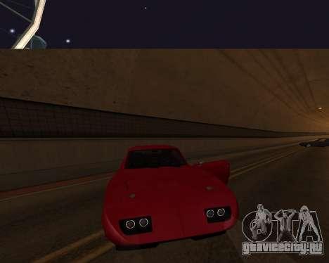 Dodge Charger Daytona для GTA San Andreas салон