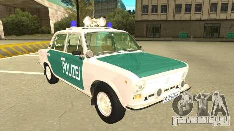 VAZ 21011 DDR police для GTA San Andreas вид слева