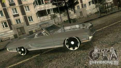 Chevy Monte Carlo для GTA Vice City вид сзади слева
