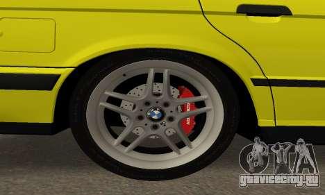 BMW M5 E34 IVLM v2.0.2 для GTA San Andreas вид сбоку