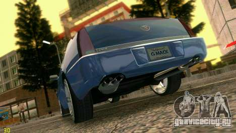 Caddy DTS DUB для GTA Vice City вид справа