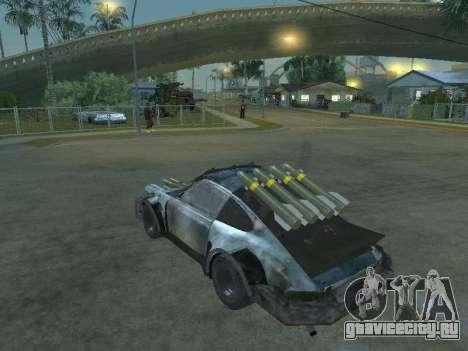 Porsche 911 Death Race для GTA San Andreas вид слева