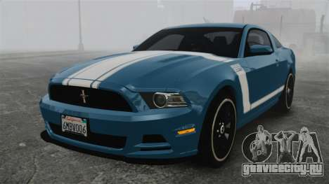Ford Mustang BOSS 2013 для GTA 4
