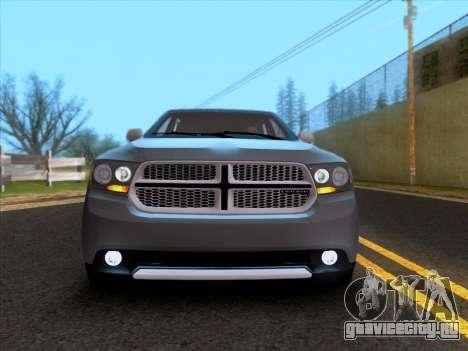 Dodge Durango Citadel 2013 для GTA San Andreas вид сзади