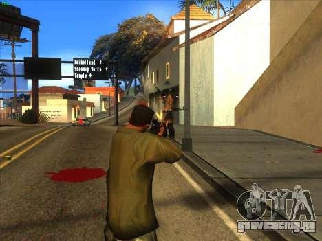 AK-103 для GTA San Andreas пятый скриншот