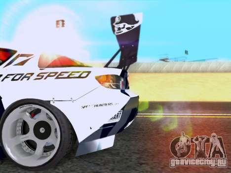 Mazda RX-8 NFS Team Mad Mike для GTA San Andreas вид справа