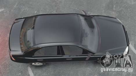 Hyundai Accent Admire для GTA 4 вид справа