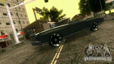 Chevy Monte Carlo для GTA Vice City вид сзади
