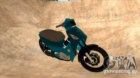 Honda 125cc Tuning для GTA San Andreas вид слева