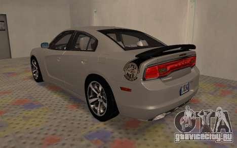 Dodge Charger Super Bee для GTA San Andreas вид справа