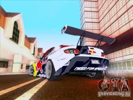 Mazda RX-8 NFS Team Mad Mike для GTA San Andreas вид сбоку