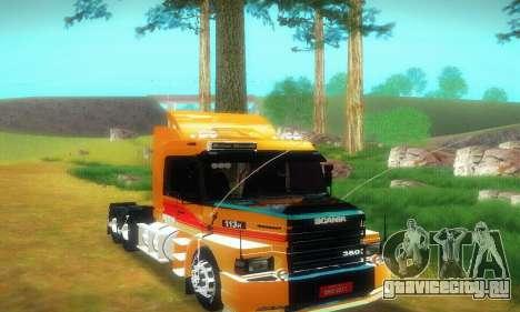 TopLine Scania 113 h 360 для GTA San Andreas