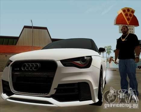Audi A1 Clubsport Quattro для GTA San Andreas вид сбоку