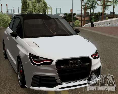 Audi A1 Clubsport Quattro для GTA San Andreas