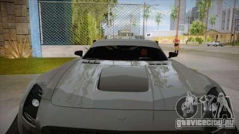 Mercedes-Benz SLS (AMG) GT3 для GTA San Andreas вид сбоку