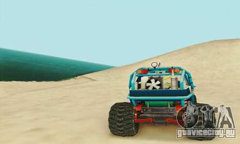 УАЗ Курсант для GTA San Andreas вид сбоку