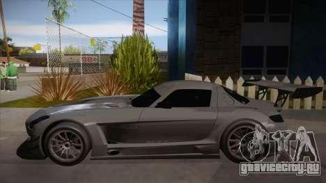 Mercedes-Benz SLS (AMG) GT3 для GTA San Andreas вид сзади слева