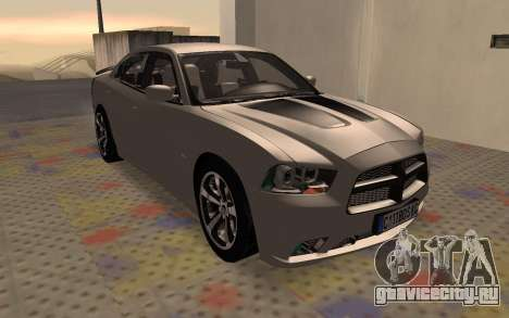 Dodge Charger Super Bee для GTA San Andreas вид слева