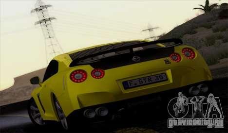Nissan GT-R Carbon для GTA San Andreas вид слева