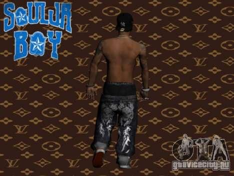 Soulja Boy skin для GTA San Andreas второй скриншот