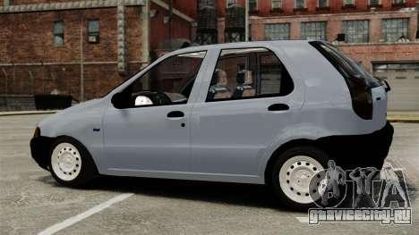 Fiat Palio EDX 1997 для GTA 4 вид слева