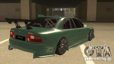 Proton Wira with s15 front end для GTA San Andreas вид справа